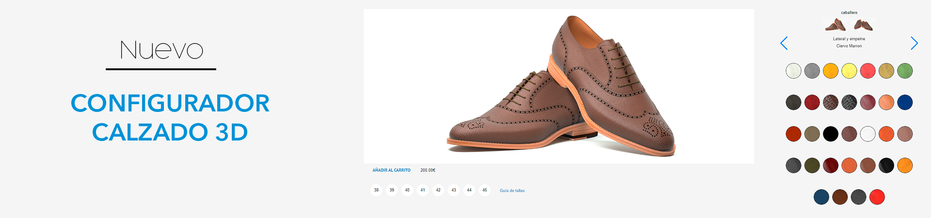 configuraodr calzado 3d calzado